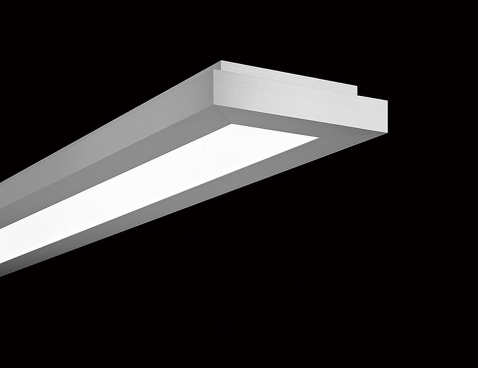 Plafoniera Rettangolare Led : Item led regent lighting